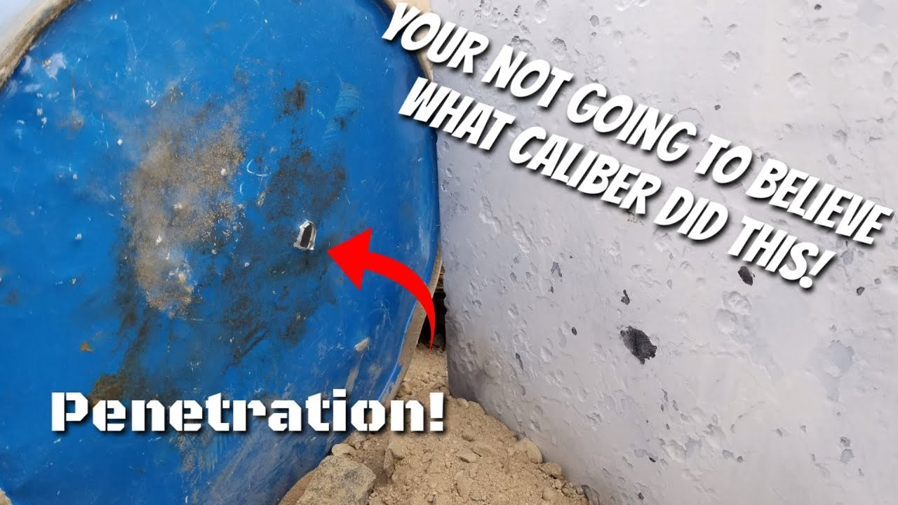 How bullet proof is - Sand? DIY Rifle Bullet Trap - What Caliber Did It Not Stop? GAW