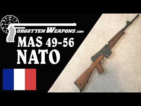 French NATO Standardization: the MAS 49-56 in 7.62mm