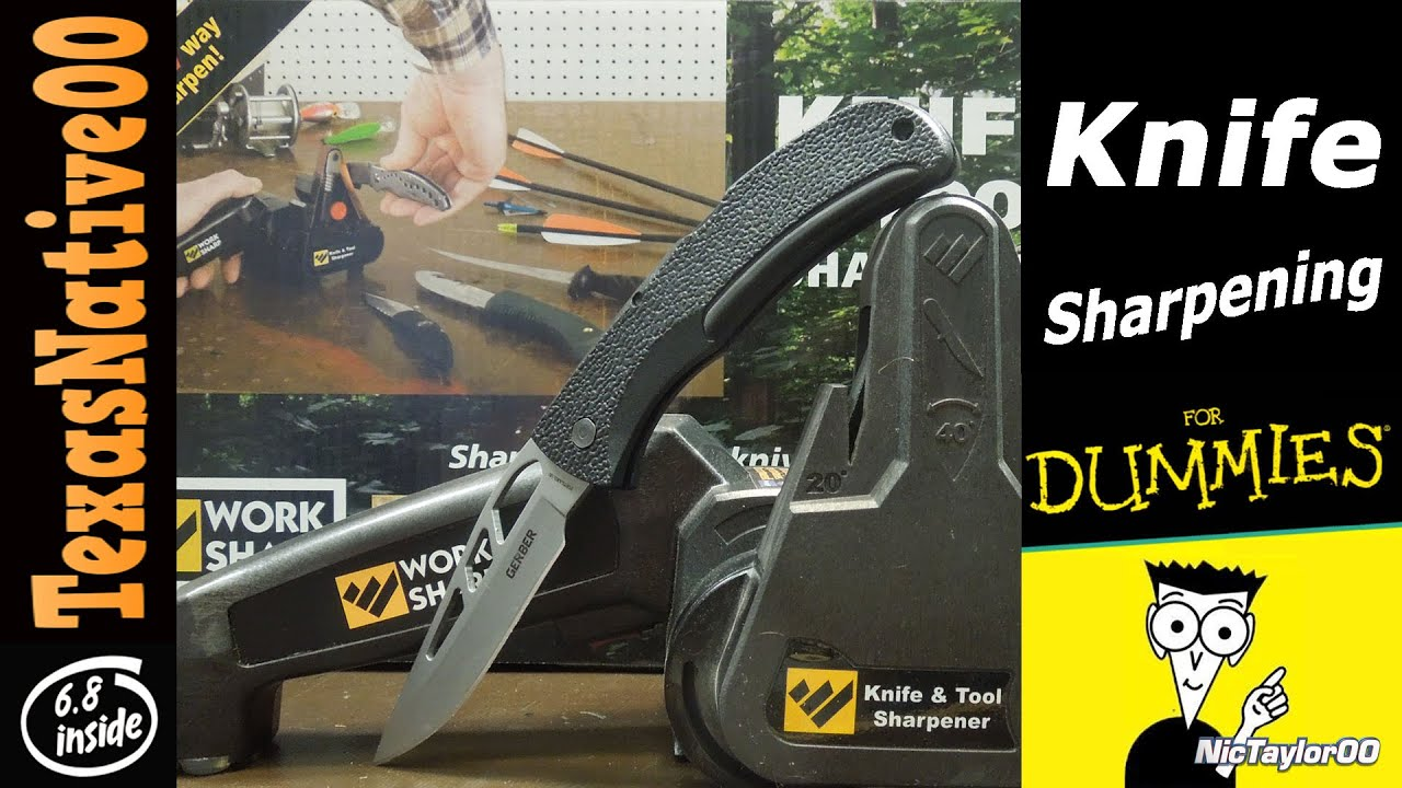 Knife Sharpening For Dummies