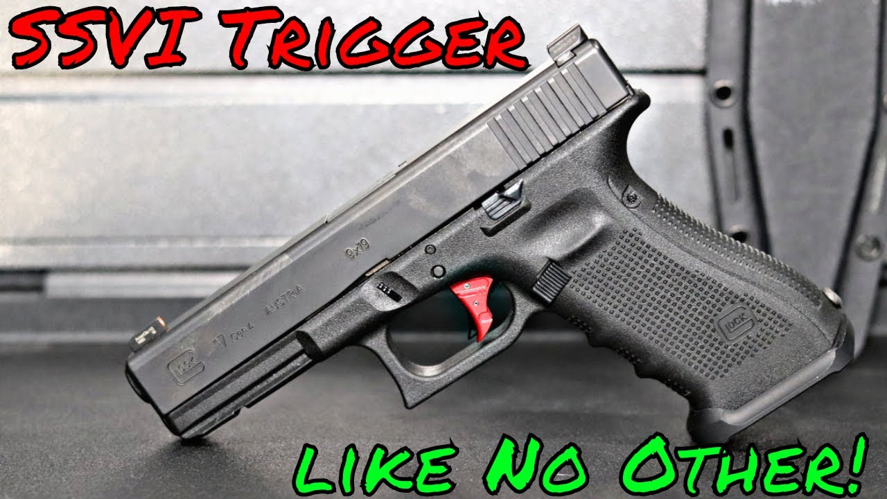 SSVI TYR Glock Trigger Can't Fight The Feeling
