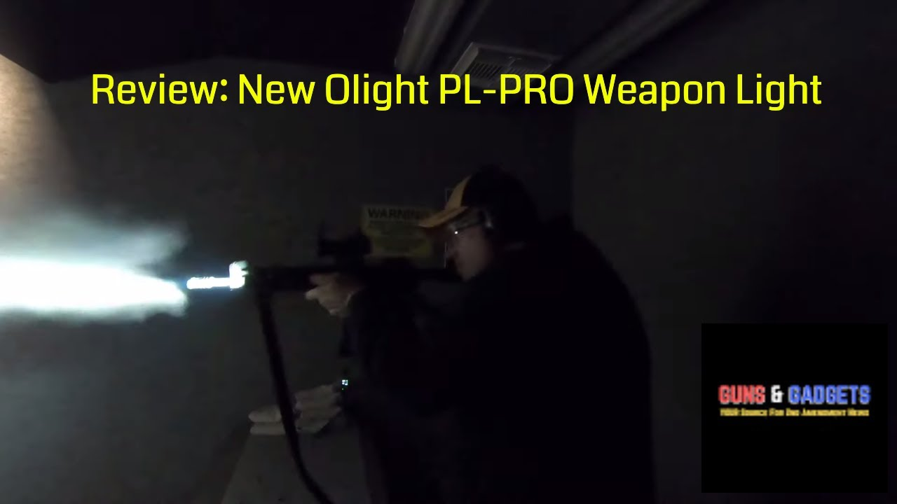 Review: New Olight PL-PRO Weapon Light