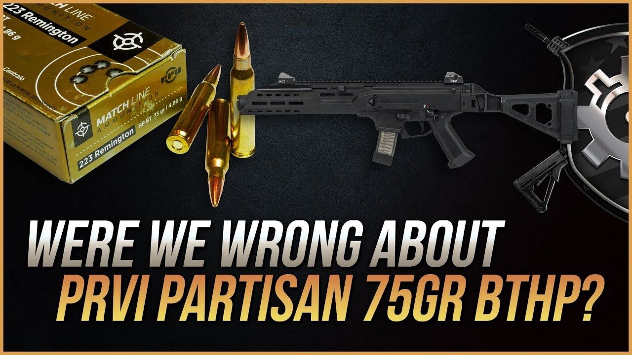 Were We Wrong About Prvi Partisan 75gr BTHP?