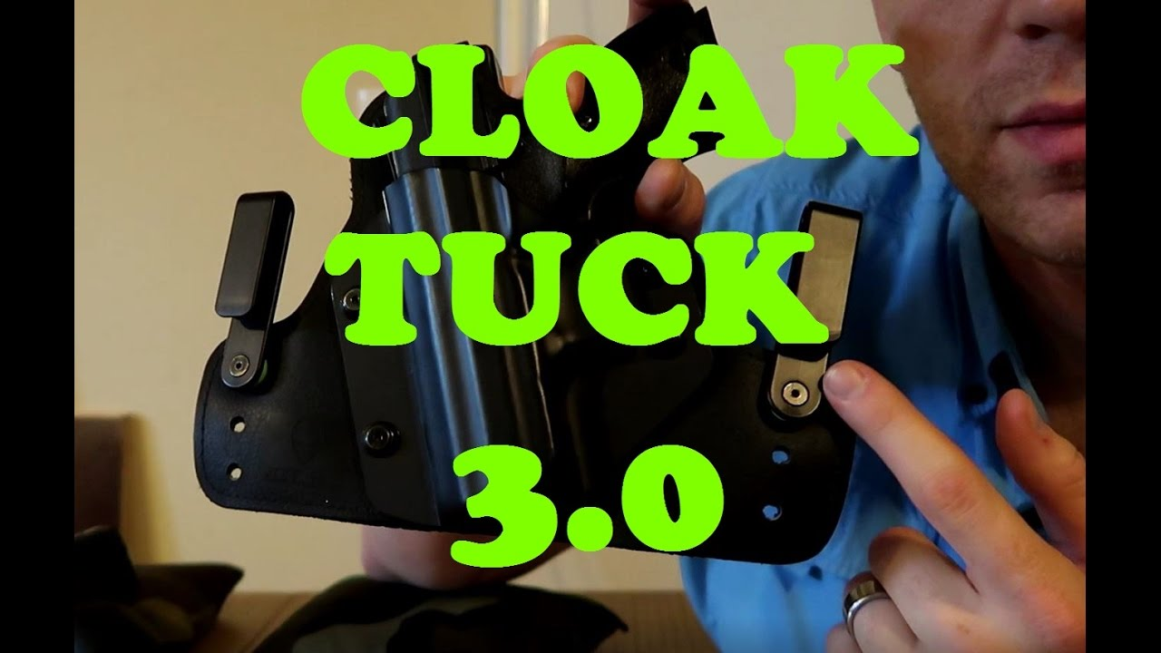 CLOAK TUCK 3.0 HOLSTER - WHO_TEE_WHO