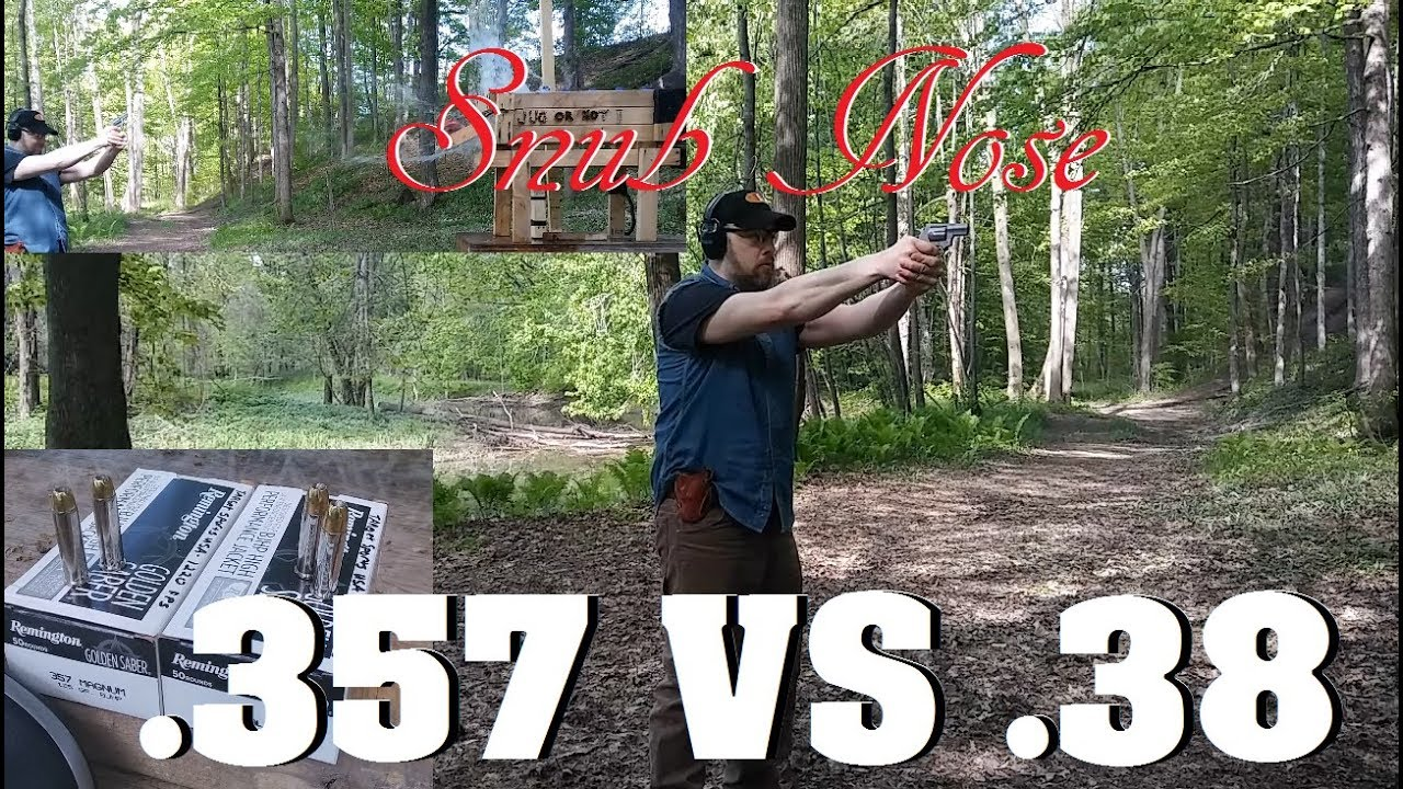 .357 Magnum Snubby- .357 Mag or .38 SPL+P Ammo? The DEFINITIVE Answer