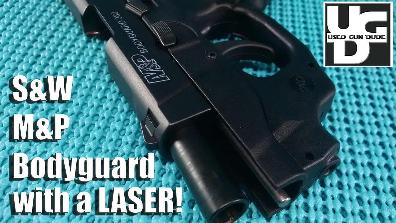 Smith and Wesson M&P Bodyguard 380 with Crimson Trace GREEN Laser 1st look Review