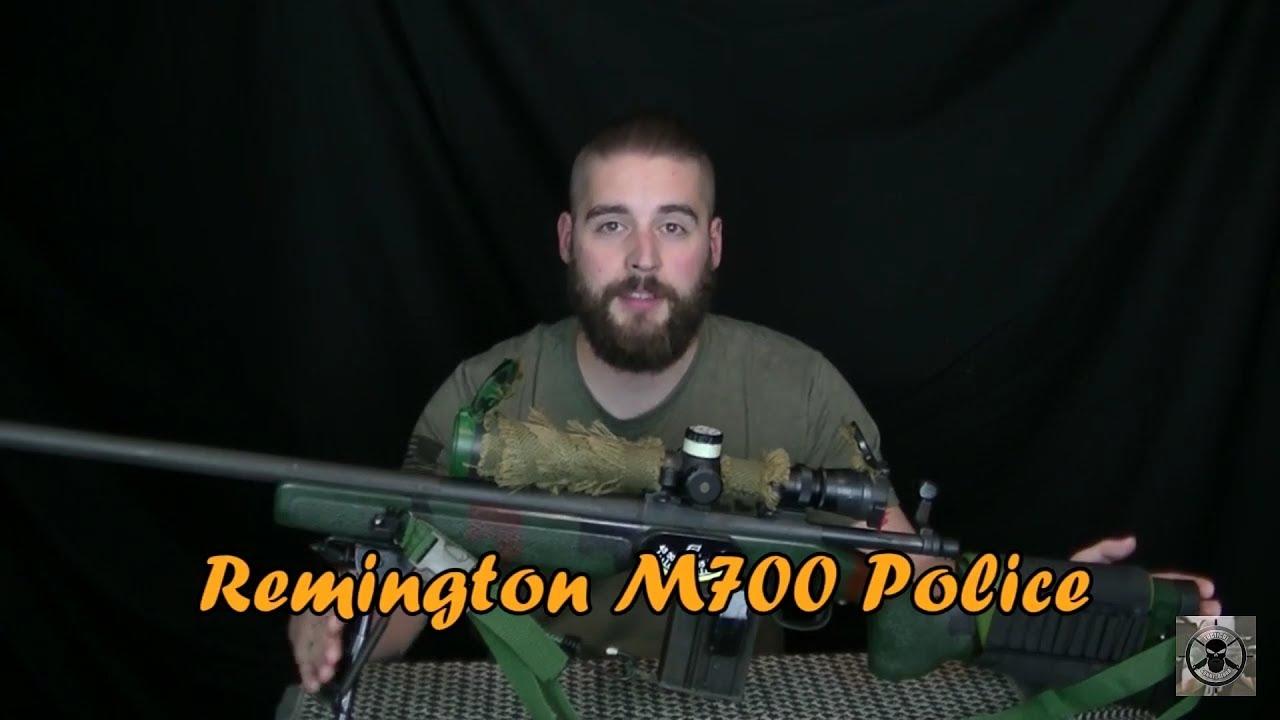 REMINGTON M700 POLICE (Deutsch) | Shooting Range Review