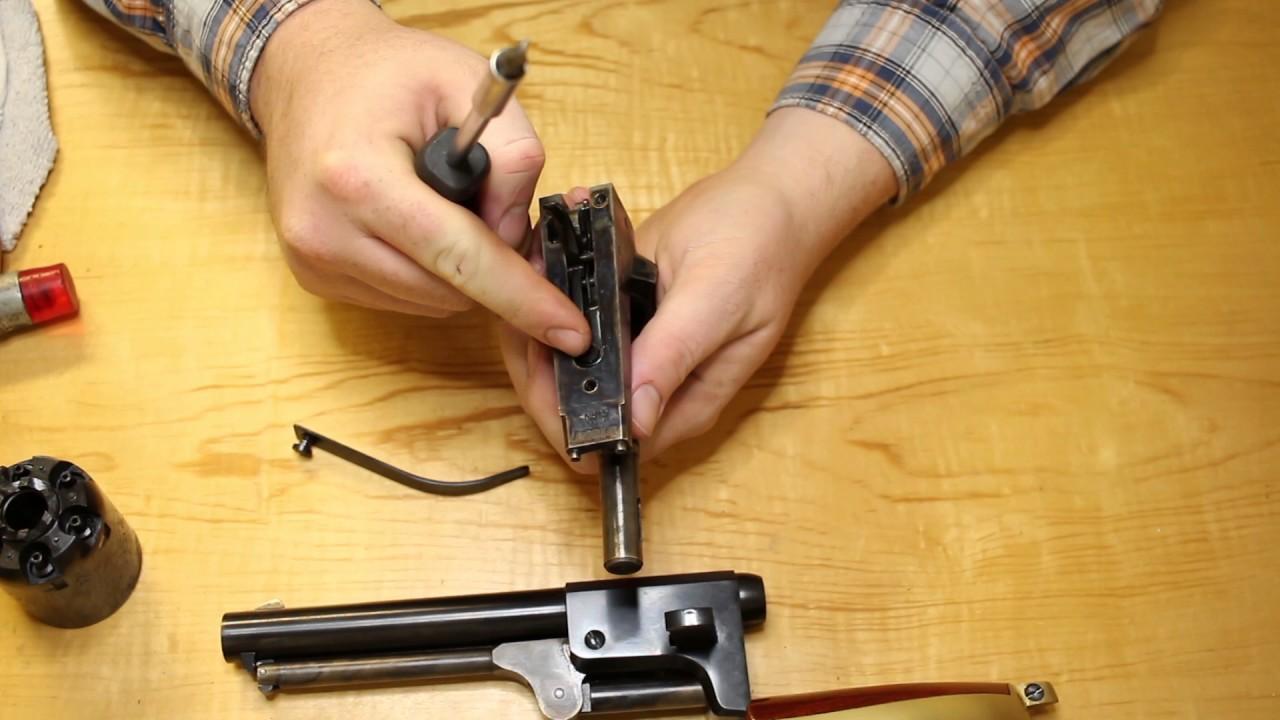 DIY Gunsmithing: Full Disassembly of a Colt Style Revolver