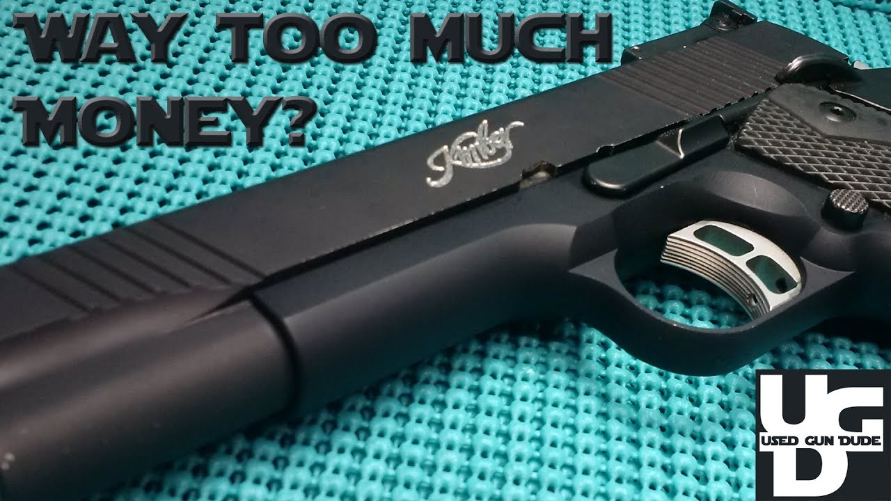 Kimber Rimfire Target New Find 1st Look, Way Too Much Money?