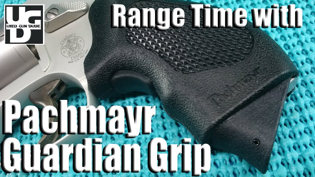 Pachmayr Guardian Grip Range Review, Making a Smith 637 J Frame Gooder