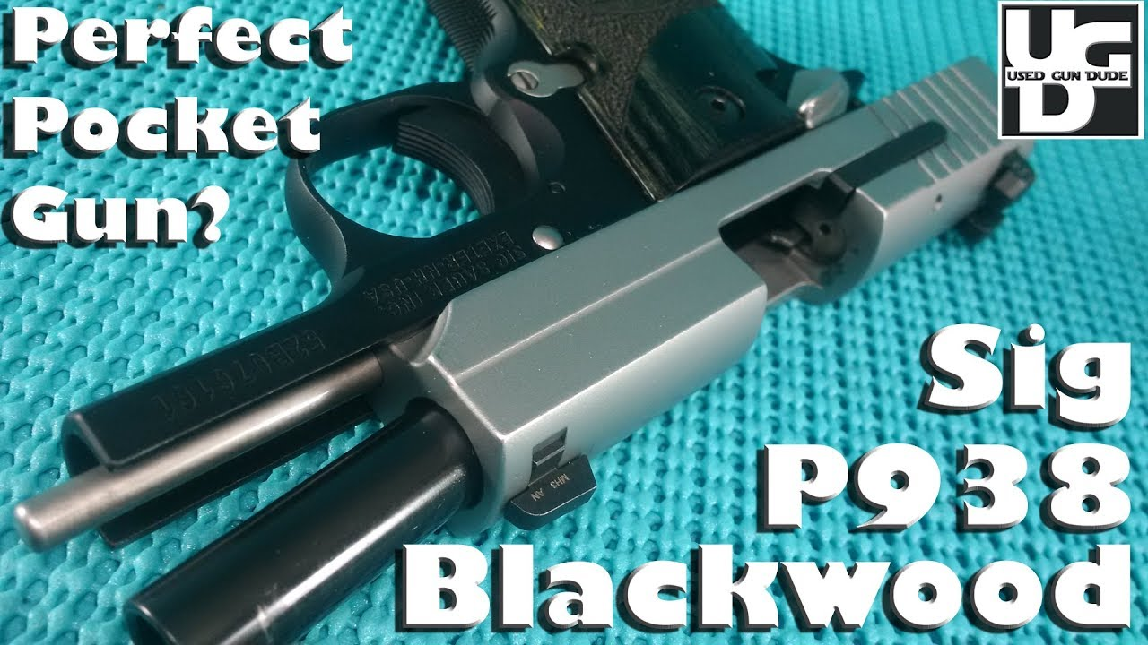Sig Sauer P938 Blackwood 1st Look Review, My wife is