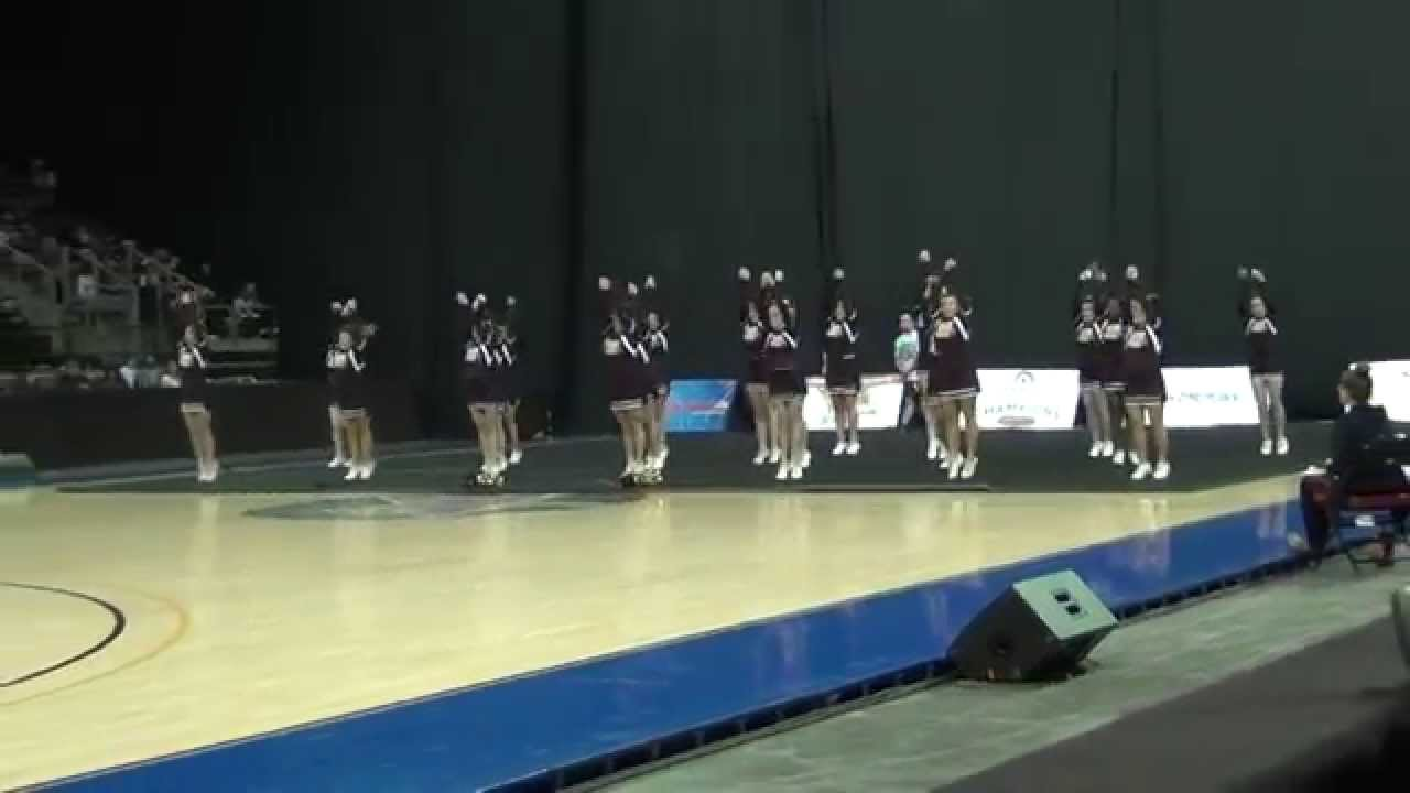 2015 AIA Spiritline Arizona State Championships (Winslow only) - HD