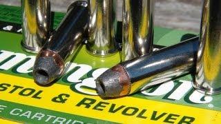 .357 Magnum Remington 158 gr SJHP Ammo Test