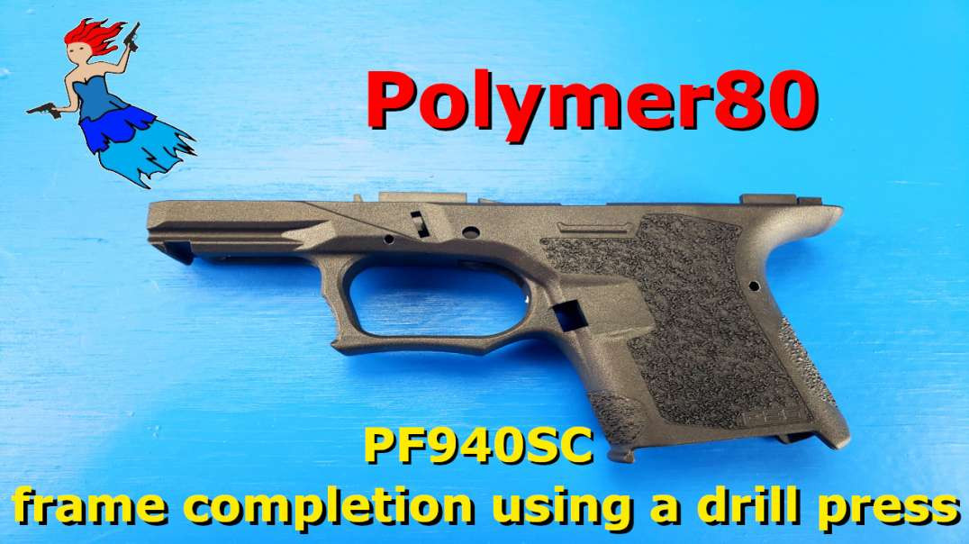 Polymer80 PF940SC completion using a drill press