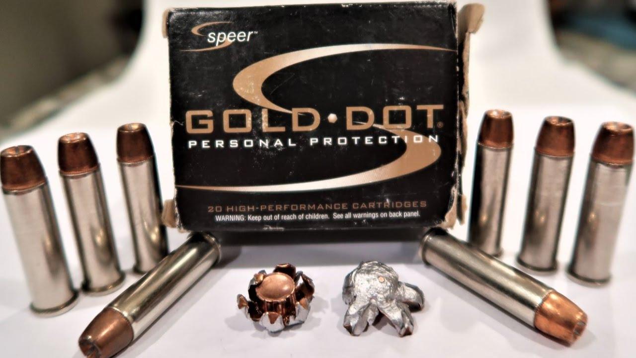 Speer Gold Dot .357 Magnum EXPANSION TEST