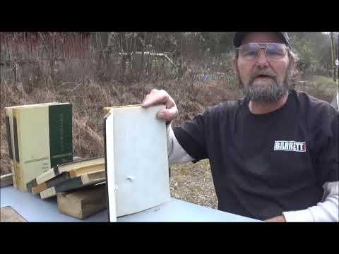 Semi Vs Revolver Penetration Test  22lr