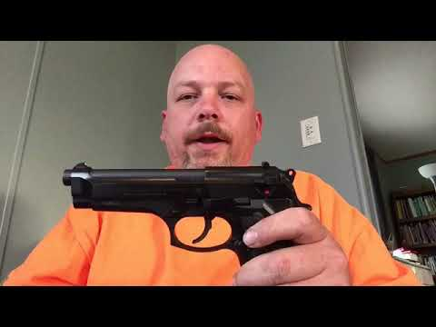 Field strip a beretta 92 series pistol