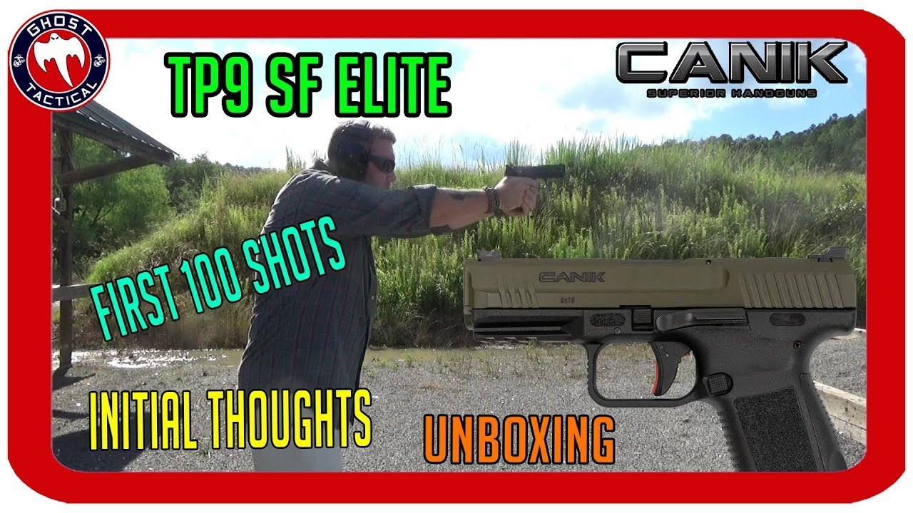 Canik TP9 SF Elite:  First 100 Shots & Initial Thoughts Review