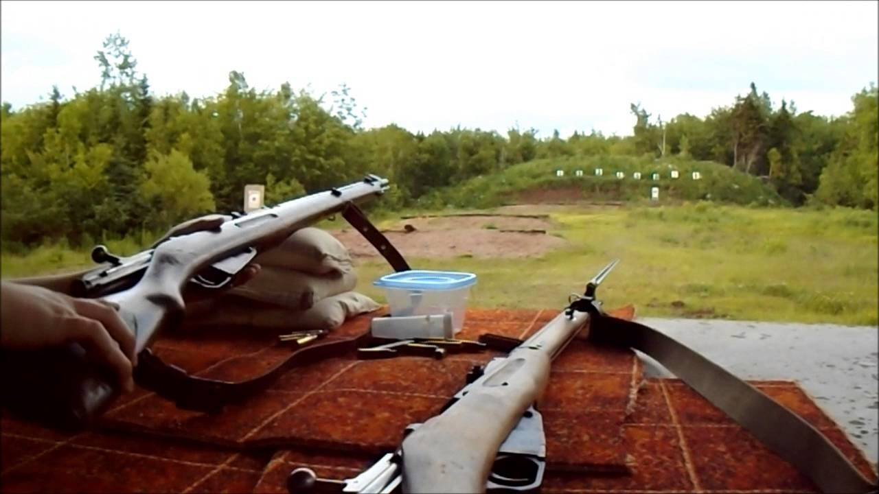 M91/30 Mosin vs. M39  @ 100 Yards