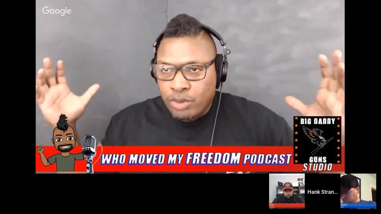 Podcast #74 - Who Will Stand Up And Who Will Remain Silent? Hank Strange Who Moved My Freedom