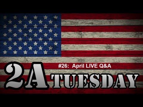2A Tuesday #026: April LIVE Q&A Chat