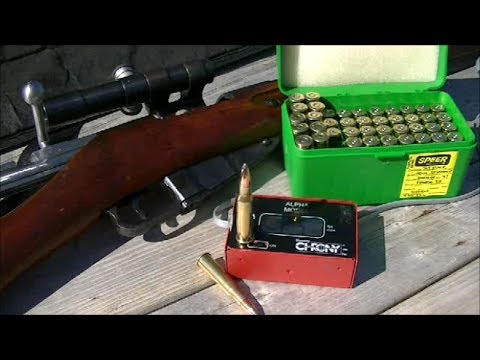 Mosin Nagant 91/30 Sniper Rifle Reload Testing