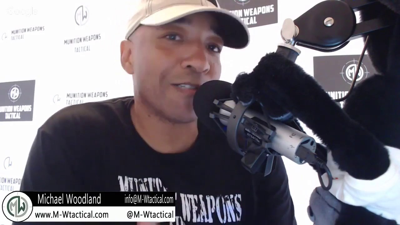 LIVE with Michael Woodland from M-W Tactical and co host of the Black Man With A Gun podcast