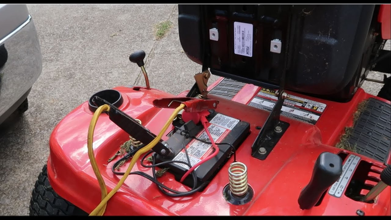CAN YOU JUMP START A RIDING LAWN MOWER? - WHO_TEE_WHO