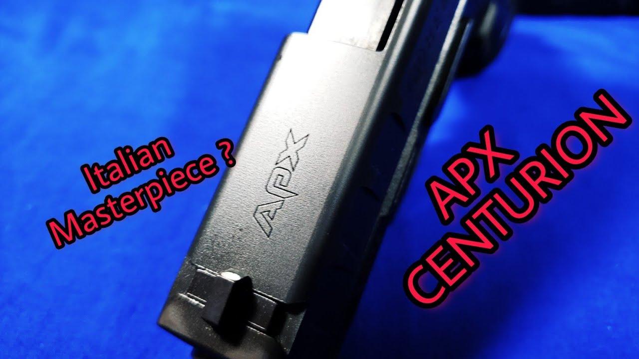 Beretta APX Centurion: Italian Perfection?