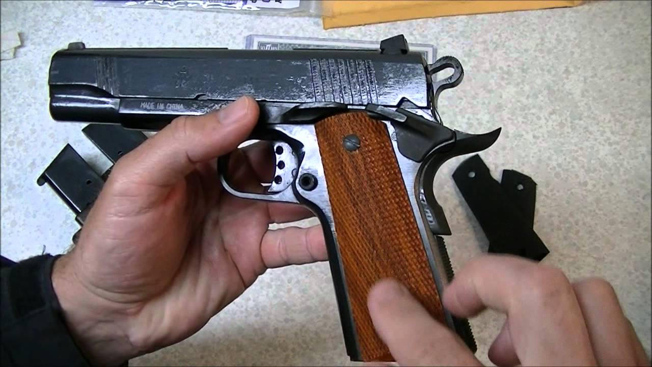 Ruger Six and the Well Traveled 1911 Grips