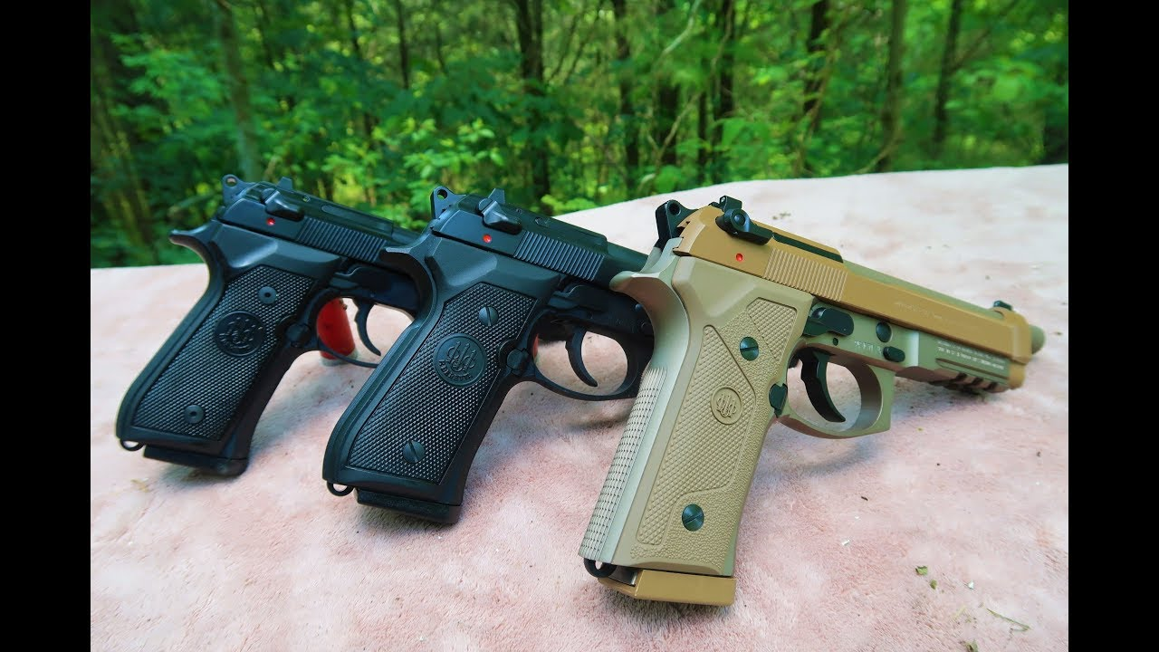 M9a3 vs 92FS vs M9 Commercial - Best Beretta 92???