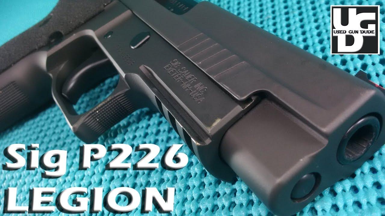 Sig P226 Legion 1st Look Review, Missing a Bit of Legion, Just a Bit