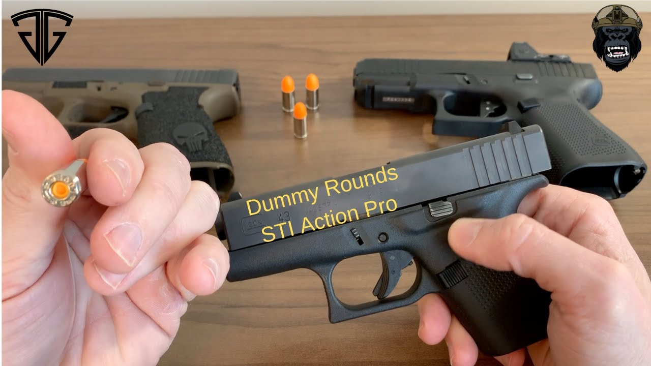 Dummy Rounds/ Snap Caps - STI Action Pro - DO NOT BUY