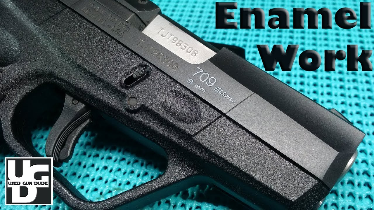 Enamel Work for the Gun, this may DESTROY your firearm