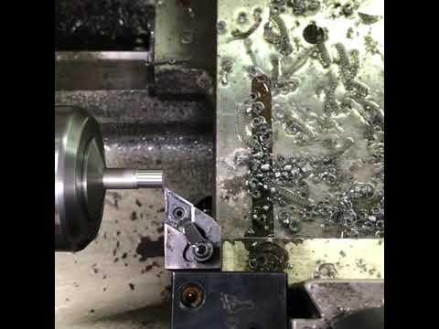 Turning Uzi sling swivel rivets