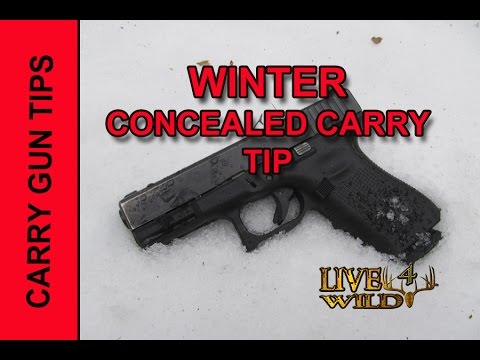 WINTER CONCEALED CARRY TIP