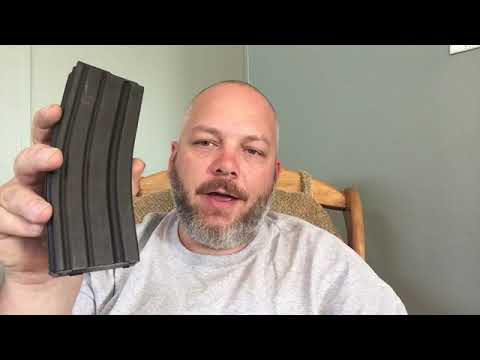Disassemble and reassemble a metal gi mag