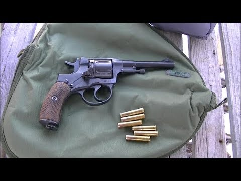 1895 Nagant Revolver With Cast Bullets