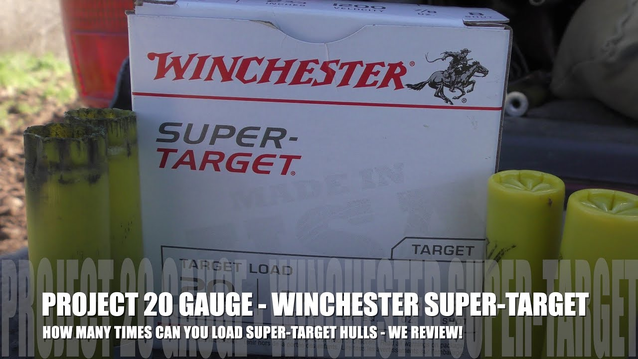 How Many Times Can You Load Winchester Super Target - PROJECT 20 GAUGE EDITION! WE REVIEW!