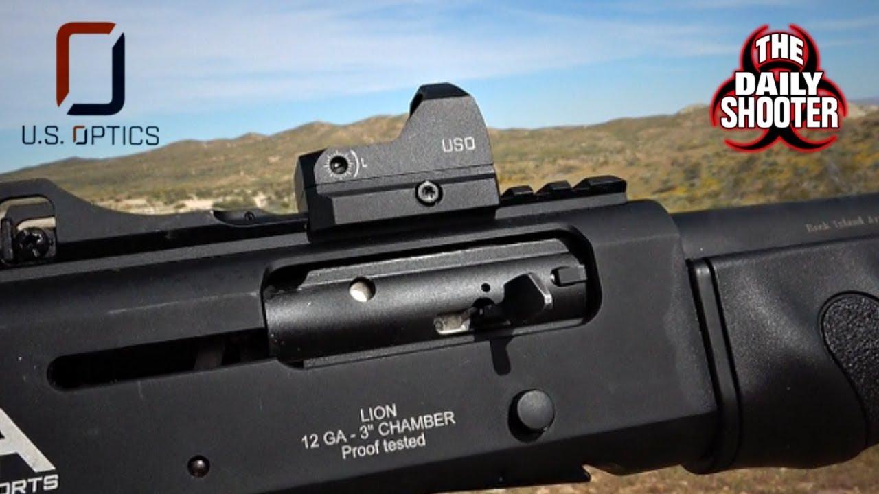 US Optics New DRS (Dynamic Reflex Sight) Review