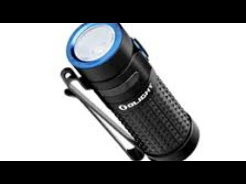 OLIGHT S1R II BATON - 1000 LUMENS! EDC LED Flashlight