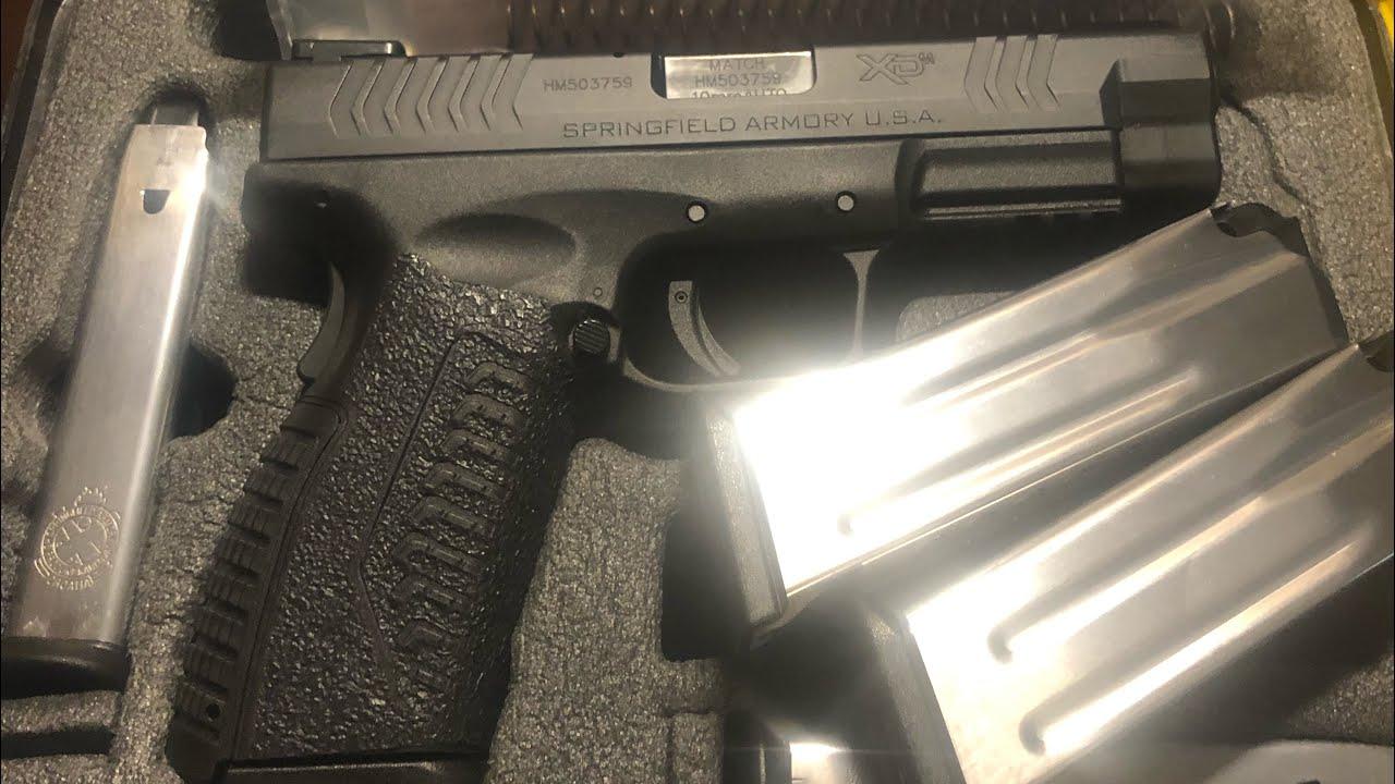 Springfield XDM 10mm 4.5