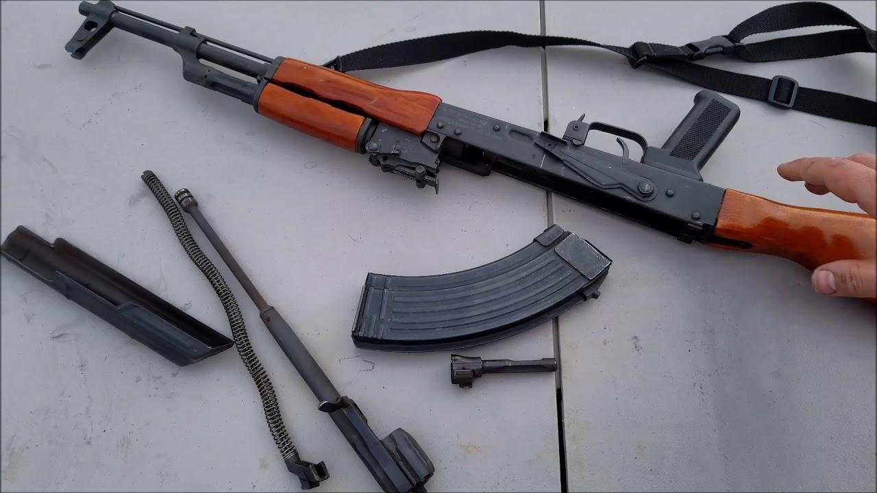 AK 47 field strip