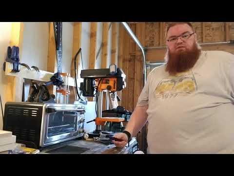 Making a Kydex Sheath   Kaping Knife, Pt 1