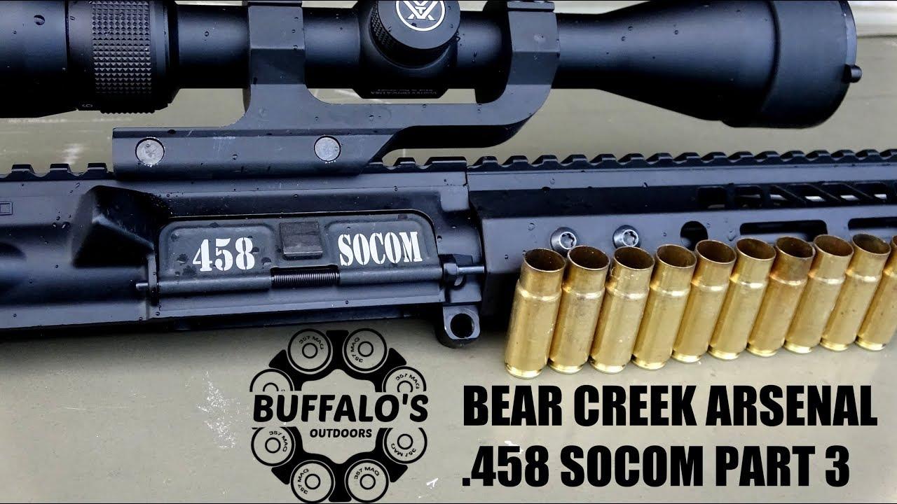 Bear Creek Arsenal .458 SOCOM Part 3 - Will it run?