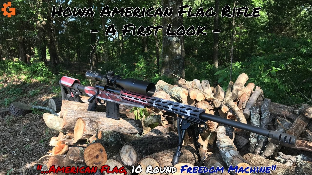 Howa .308 Bolt Action - American Flag 10 Round Freedom MACHINE!