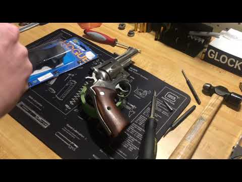Hogue Monogrip Installation Ruger Security Six 357 Magnum