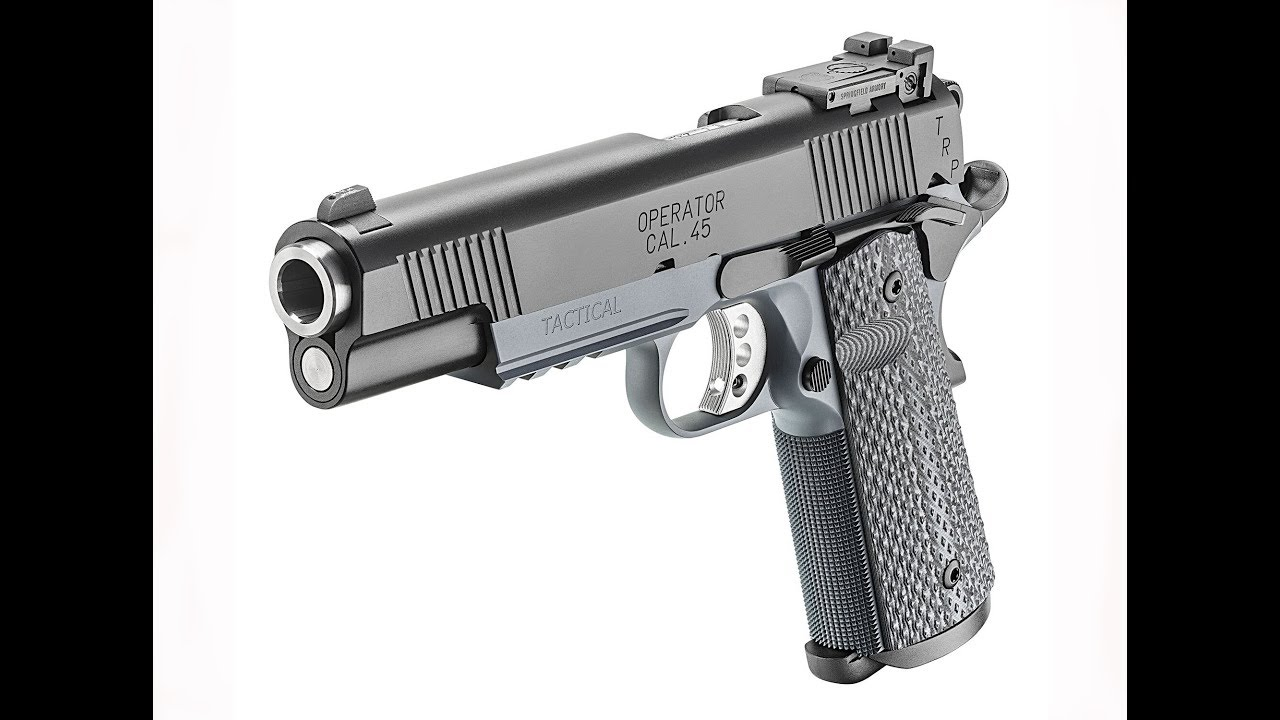 Replacing the Full-Length Guide Rod on a Springfield Armory TRP Operator Tactical 1911 #584