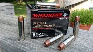 Winchester PDX1 .357 Magnum Ammo Gel Test