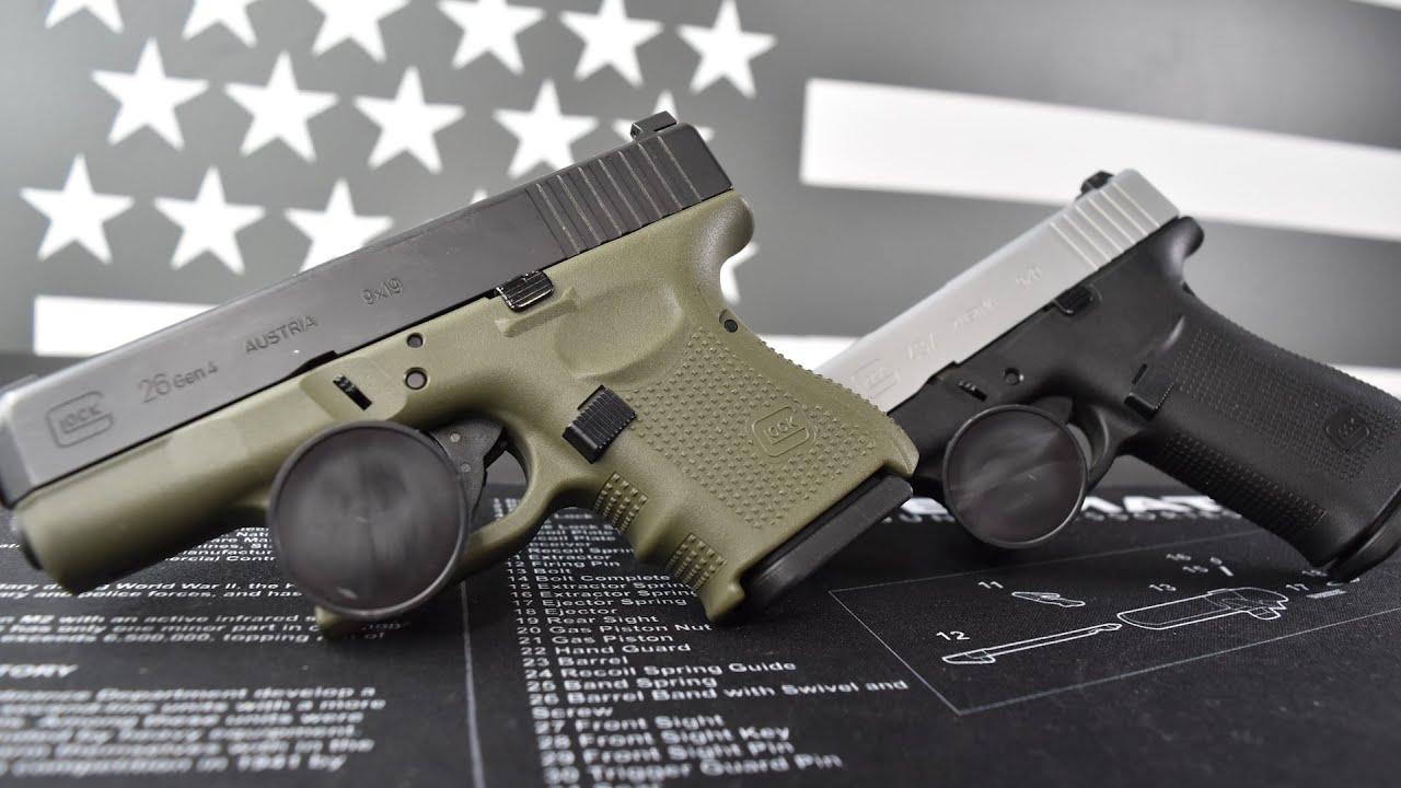 Glock 26 Vs Glock 43X...The Best 10 Round Glock Is...