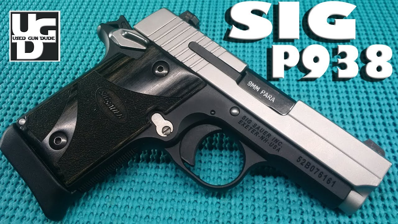 Sig Sauer P938 Blackwood Range Review, How Big Can a Gun Shoot